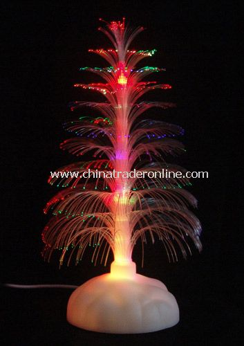 USB 7 color fountain fiber Xmas