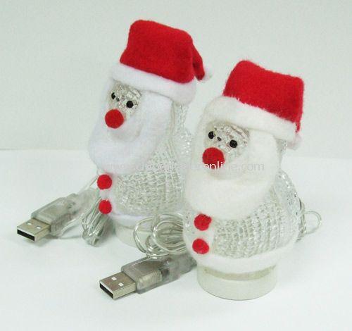 USB 7 Color Santa Claus