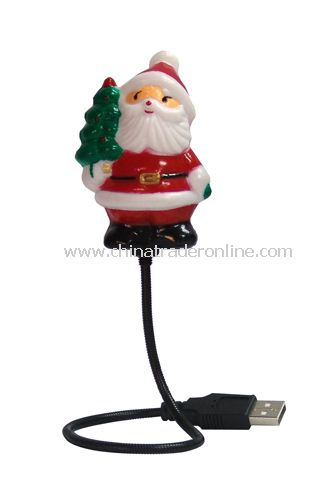 USB 7 Color Santa Claus Flexible Wire from China