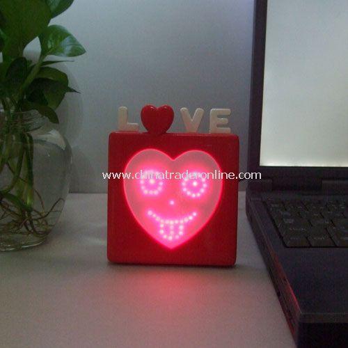USB emotion display