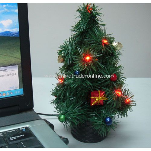 USB Green XMas tree music optional