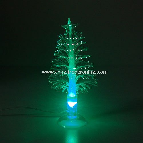 USB mini fiber christmas tree(with cupula)