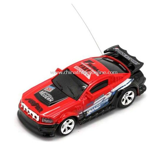 1:63 radio control racing car with bullet transparent bullet cube package