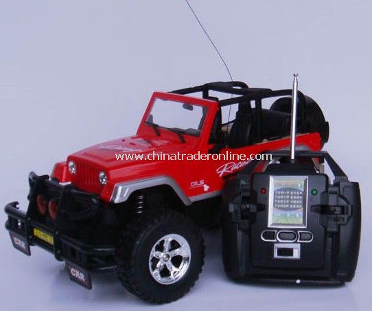 1:9.5 Radio Control Cross-country Jeep Robin Hood