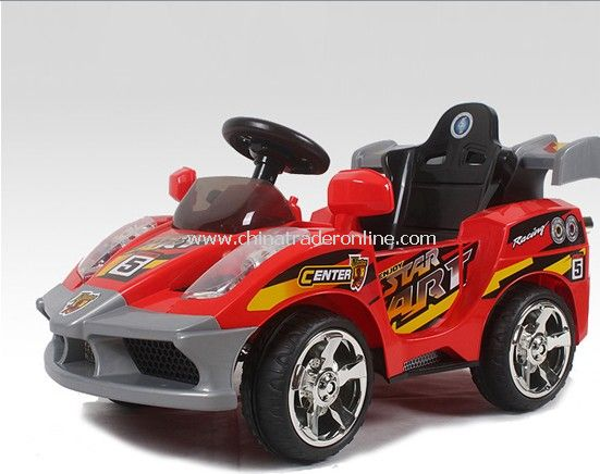 4ch RC radio control ride on car with Safety belts and Excessive electric current protection device