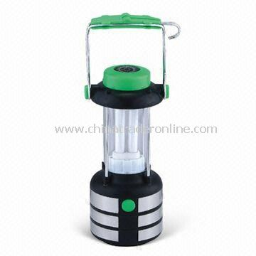 8-piece LED Solar Camping Lantern, Made of ABS