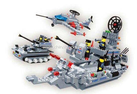AEROAMPHBIOUS toy bricks, building blocks