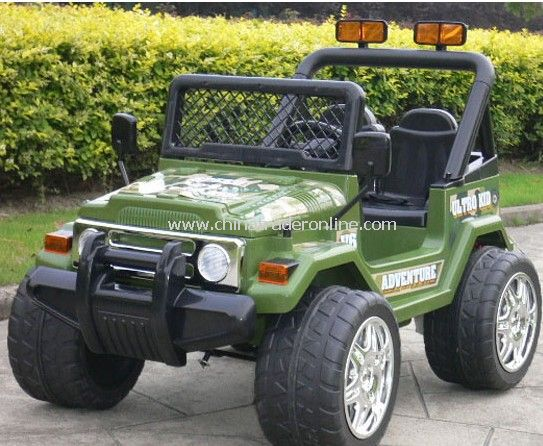 Battery operated ride on Jeep