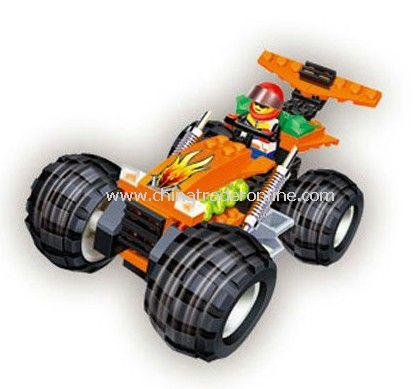 BIG WHEEL toy bricks, building blocks
