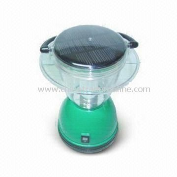 Camping Lantern with 1.1W Solar Power and ABS Plastic Lamp Housing