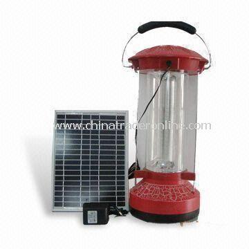Camping Lantern with 10W Solar Panel