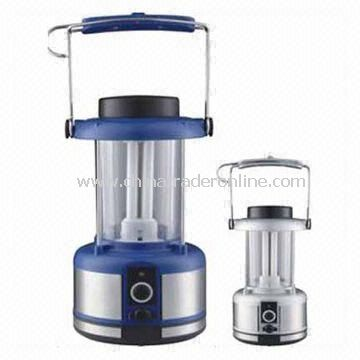 Camping Lanterns with 3W Mono-crystalline Silicon Solar Panel, Various Colors are Available