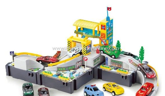 car washing field with two cars included