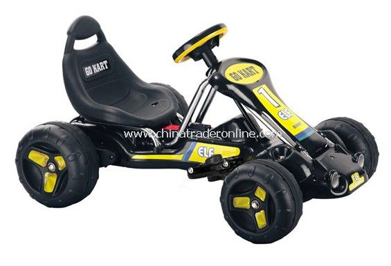 electric powered children go kart racer