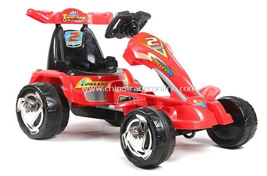 electric powered ride on go kart