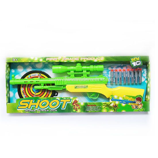 EVA soft bullet gun with 8pcs EVA bullet