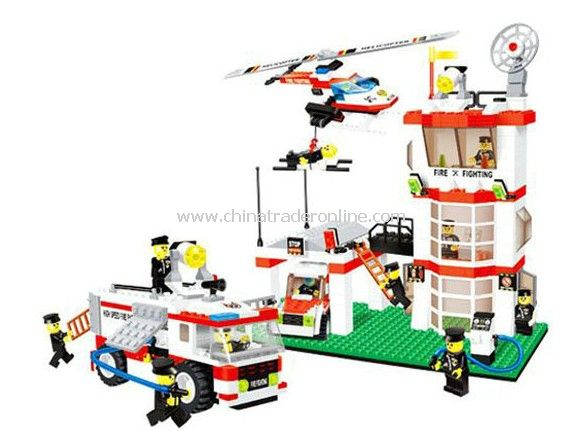 FIREHOUSE toy bricks, building blocks from China