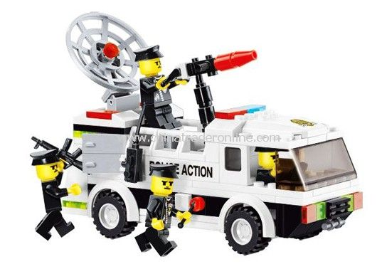 FORCE POLICE toy bricks, building blocks