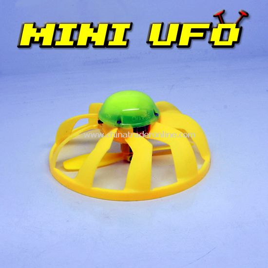 Infrared RC mini UFO with flash lamp