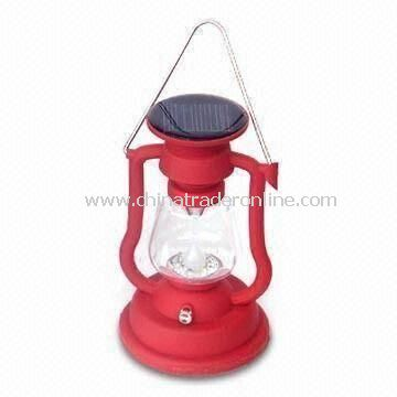 Lantern with Poly Solar Panels, Suitable for Camping Purpose