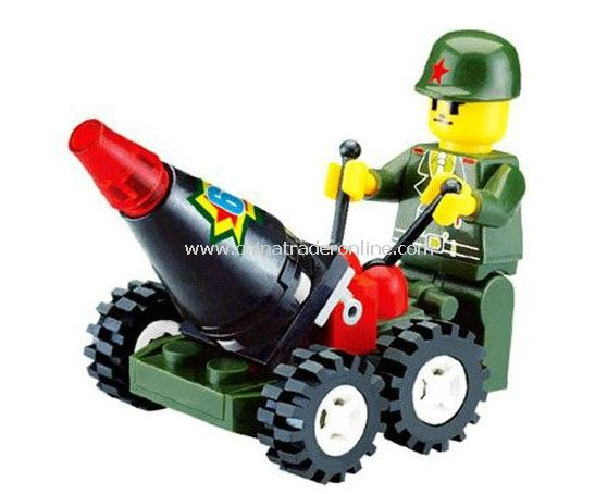 MILITARY AFFAIRS toy bricks, building blocks from China