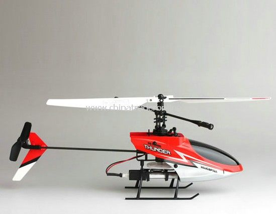 Mini 2.4G RC 4CH Helicopter with single layer blades