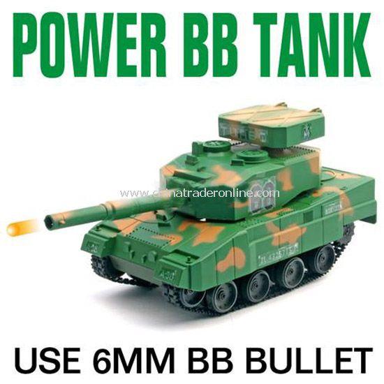 Mini RC shooting Tank