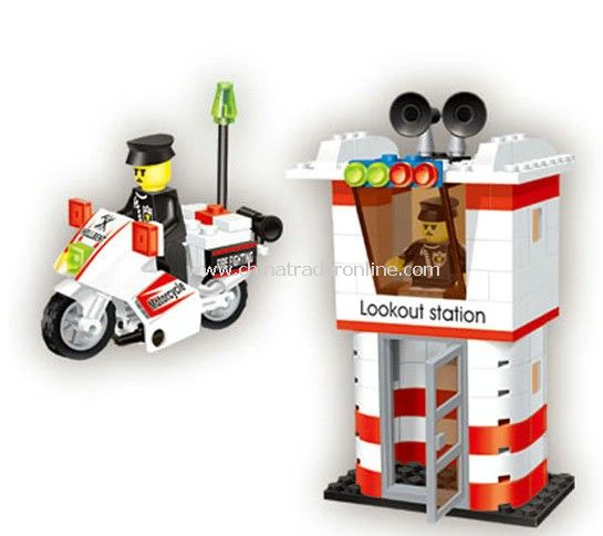 MOTOTCYCLE toy bricks, building blocks