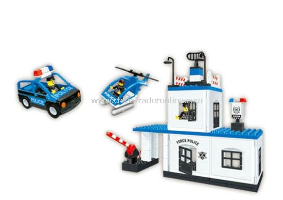 PLICE HEADQUARTERS toy bricks, building blocks from China