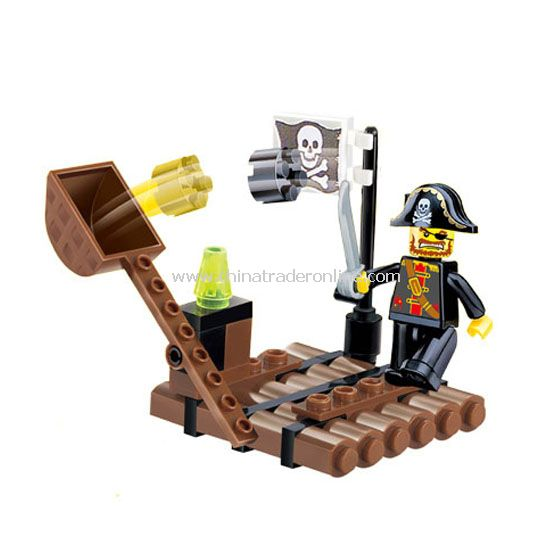PTRATE toy bricks from China