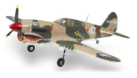 RC model plane Big P40 1400mm long