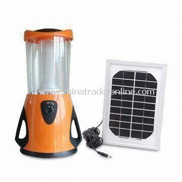 Solar Camping Lantern, Brightness can be Adjusted, with Solar Panel, 36-piece Superbright LED