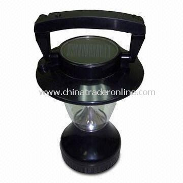 Solar Camping Lantern with Dynamo Charging Function