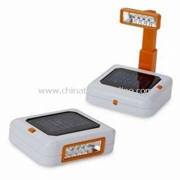 Solar Camping Lantern with Radio or 2 NI-CD/MH Chargeable Storage with 1.2V/600mA