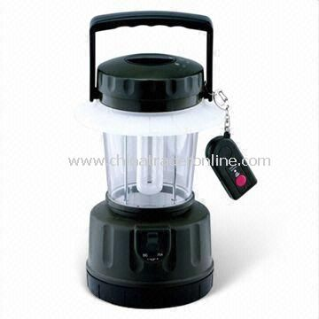 Solar Camping Lantern with Wireless Remote Controller and Lead-acid Battery