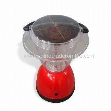 Solar Camping Light, Available in Red, Green, White and Blue, with 0.7W Solar Panel