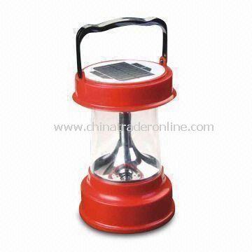 Solar LED Camping Lantern with Adjustable Light