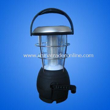 Solar Power Camping Lantern with Dynamo Charger with 9 LEDs
