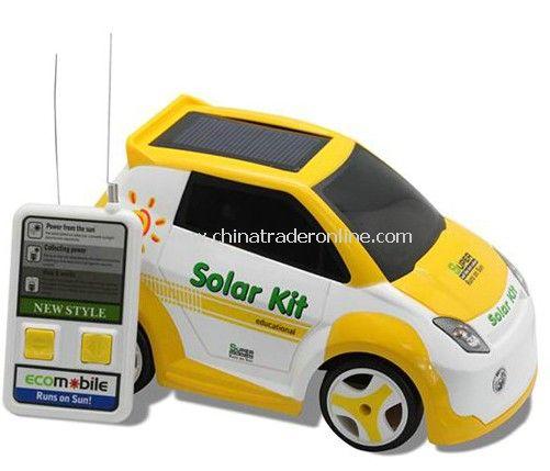 Solar remote control cars