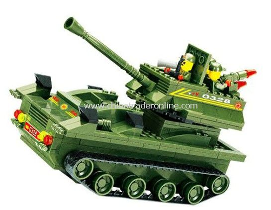 TANK toy bricks, building blocks from China