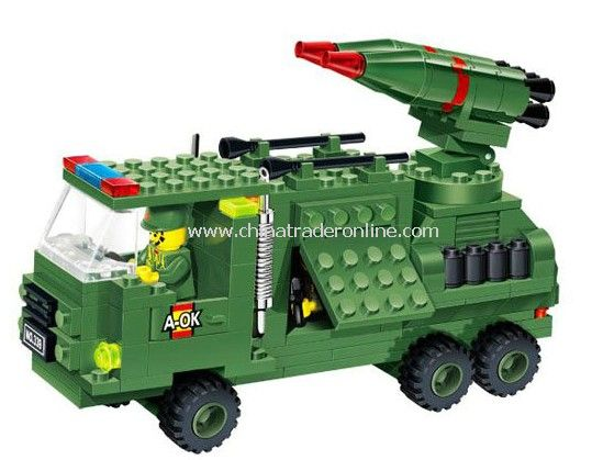 WAR GAME toy bricks, building blocks