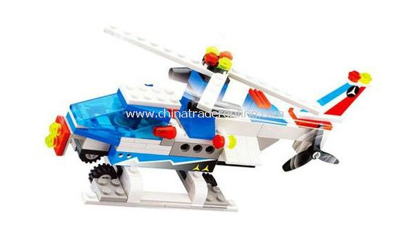 WHIRLYBIRD toy bricks, building blocks