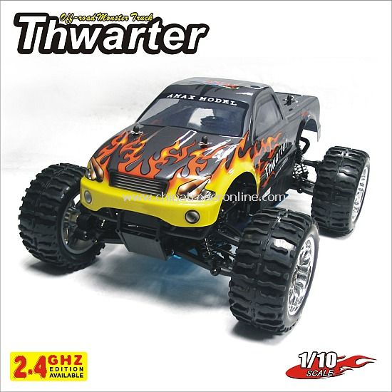 1:10 nitro monster truck - Tharter,2.4G edition available from China