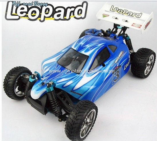 1:10 nitro powered vehicle - Leopard,2.4G edition available