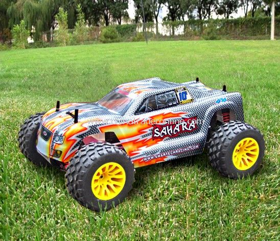 1:10th scale 4wd nitro powered monster truck-sahara