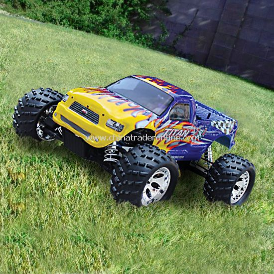 1:5 4wd gas-powered monster truck - TITAN