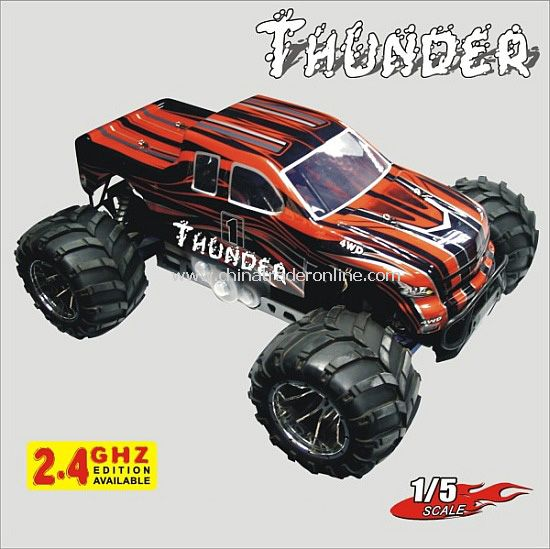 1:5th Scale Gasoline Off Road Truck-Thunder,2.4G available