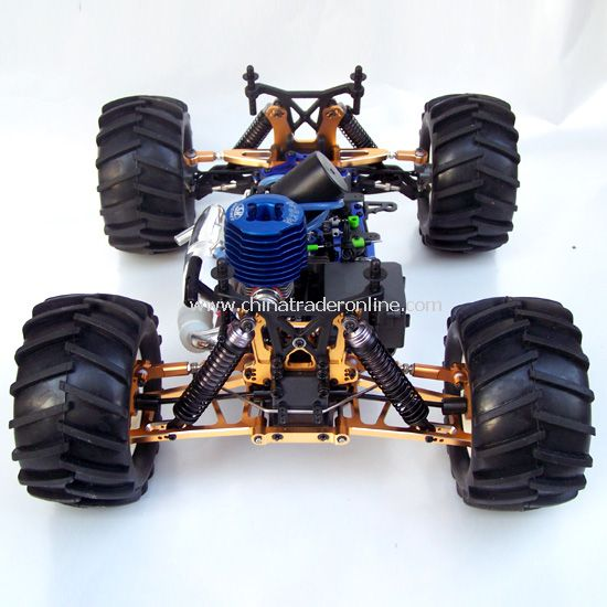 1:8 nitro powered 4WD off-road truck - Boom Wheel - Upgrade version