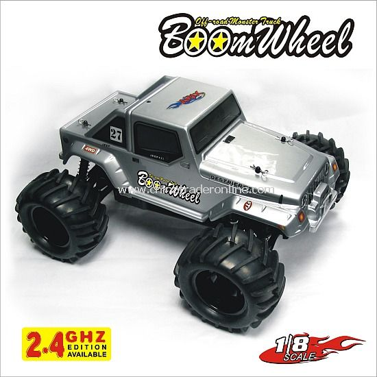 1:8 nitro powered 4WD off-road truck - Boom Wheel,2.4G edition available