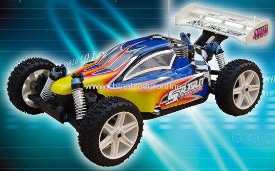 1:8 scale 4wd nitro off-road buggy from China